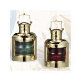 Deluxe Port and Starboard Oil Lantern Set 12.5""