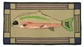 Fish Hand Tufted Wool Rug