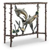 Dolphin Duo Lobby Table