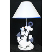 Anchor and Posts Lamp - 23""