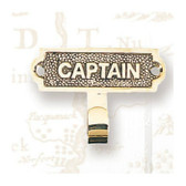 Brass Coat Hanger - Captain's