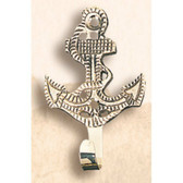 Brass Coat Hanger - Anchor