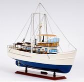 Dickie Walker Trawler Yacht