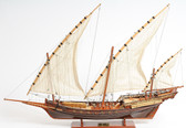 Xebec Sailing Ship