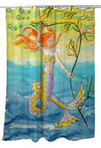 Betsy's Mermaid Shower Curtain
