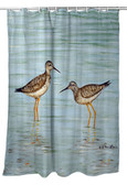 Yellow Legs Shower Curtain