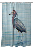 Dick's Little Blue Heron Shower Curtain