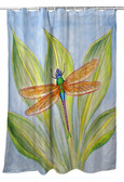Dick's Dragonfly Shower Curtain