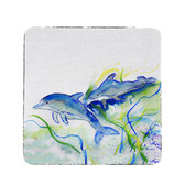 Betsy's Dolphins Coasters  - Set of 4