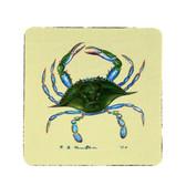 Blue Crab Coasters - Set of 4