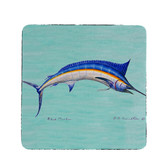 Blue Marlin Coasters - Set of 4