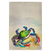 Teal Crab Guest Towels - Set of 4