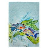 Pair of Fish Guest Towels - Set of 4