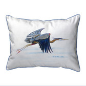 Eddie's Blue Heron Pillows