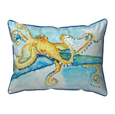 Gold Octopus Pillows
