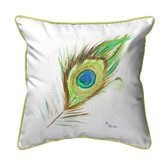 Peacock Feather Pillows