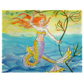 Betsy's Mermaid Place Mats - Set of 2