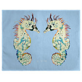 Betsy's Seahorses Place Mats - Set of 2