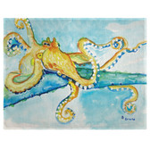 Gold Octopus Place Mats - Set of 2