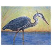 Great Blue Heron Place Mats - Set of 2