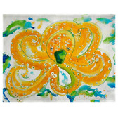 Orange Jellyfish Place Mats - Set of 2