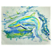 Green Shark Place Mats - Set of 2