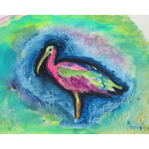 Glossy Ibis Place Mats - Set of 2