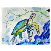 Yellow Sea Turtle Place Mats - Set of 2