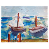 Two Sailboats Place Mats - Set of 2