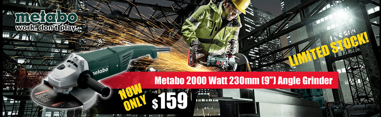 Metabo Angle Grinders - Audel Tools Dandenong