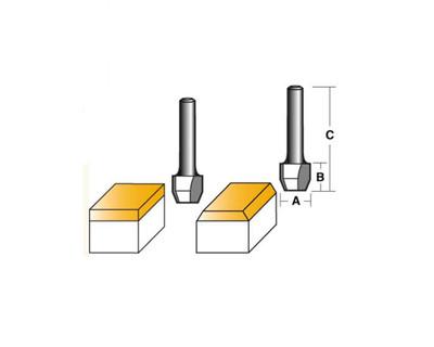 Carb-I-Tool T2622 Combination 22º 12mm