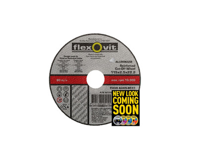 Flexovit 1611522 Aluminium Cut Off Wheel 115x2.5x22mm