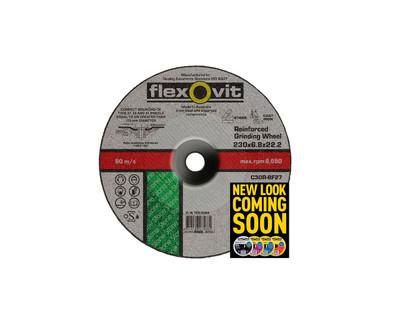 Flexovit 7523068 Masonry Grinding Wheel 230x6.8x22.2mm