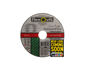 Flexovit 4011522 Masonry Cut Off Wheel 115x3.2x22.2mm