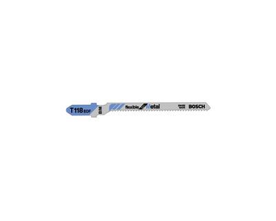 Bosch T118EOF Jigsaw Blades 5 Pce - Metal Cutting