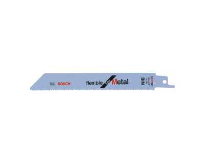 Bosch Sabre Saw Blade S 922 BF Flexible for Metal 2 Pack