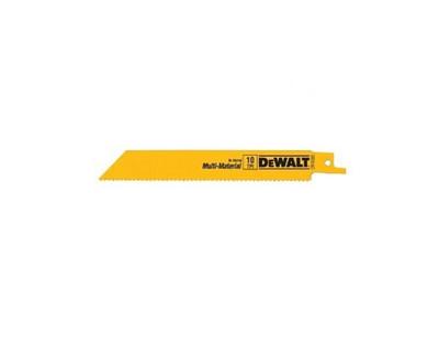 Dewalt DW4802 Bi-Metal Recipro Saw Blades 6'' x 6 TPI 5 Pack