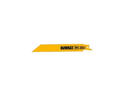 Dewalt DW4811 Bi-Metal Recipro Saw Blades 6'' 18 TPI 5 Pack