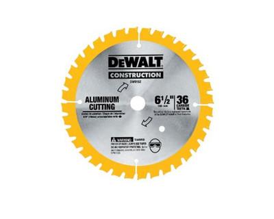 Dewalt DW9152 Aluminium Cutting Cordless Saw Blade 6-1/2'' x 36T