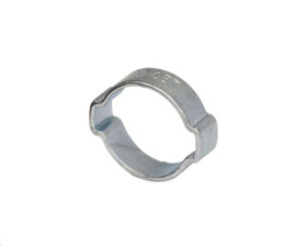 """Air Fittings Steel Double Ear Clamp 22-25mm (15/16"""")"""