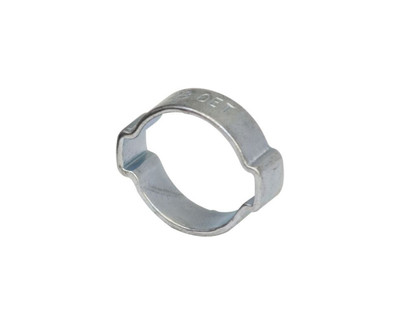 """Air Fittings Steel Double Ear Clamp 13-15mm (9/16"""")"""
