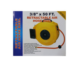 Workquip Air Hose & Reel Retractable 15m