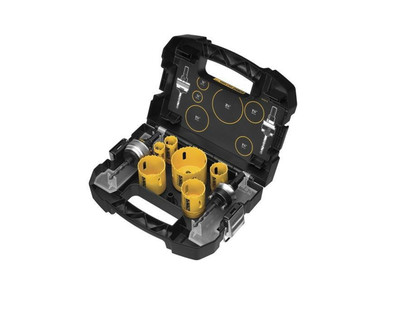 DeWALT D180001 Heavy-Duty Plumbers Hole Saw Kit