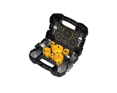 DeWALT D180002 Heavy-Duty Electricians Hole Saw Kit