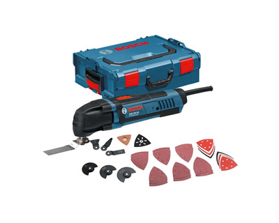 Bosch GOP250CE Multi-Cutter Multitool Kit 250W