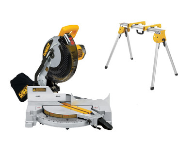 DeWALT DW713 Compound Mitre Saw 255mm Includes DWX725B Work Stand!!