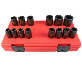 "Chicago Pneumatic SS4114 Impact Socket Set 1/2"" 14pce"