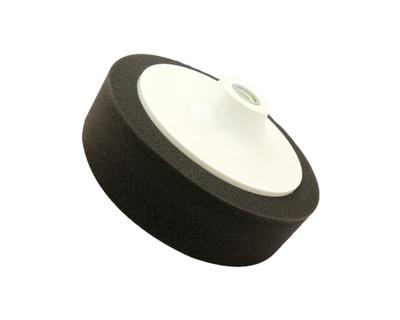 "Black Diamond Foam Buffing Pad Black 150mm (6"") - Final Polishing"