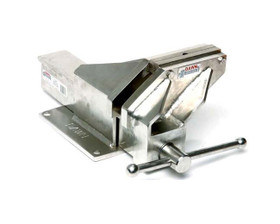 """Dawn 60212-SS Fabricated Engineers Vice S/S Marine Grade Offset 100mm (4"""")"""