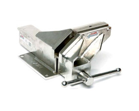 """Dawn 60214-SS Fabricated Engineers Vice S/S Marine Grade Offset 150mm (6"""")"""
